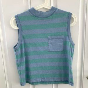 Urban Outfitters BDG striped muscle tank